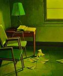 Cocotte minute - Huile sur toile - 55 x 46 cm