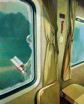 Correspondance - Huile sur toile - 41 x 33 cm