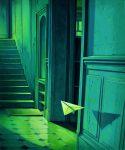 L'ascension - Huile sur toile - 55 x 46 cm